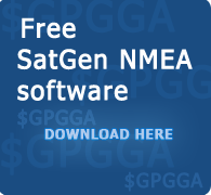 Download the free SatGen NMEA software